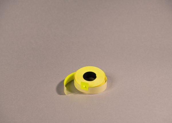 Etiketti 16x18mm keltainen