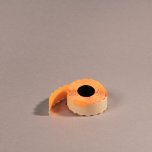 Etiketti 26x12mm oranssi