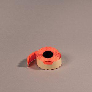 Etiketti 26x12mm punainen