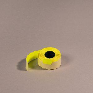 Etiketti 26x16mm keltainen