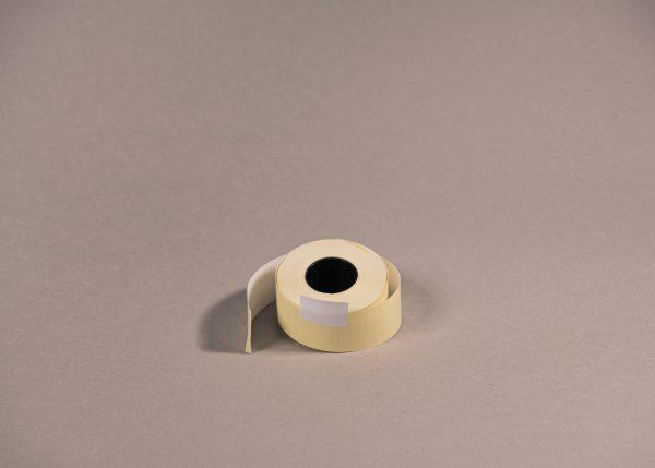 Etiketti 26x16mm suorakaide valkoinen