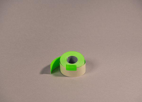 Etiketti 26x16mm suorakaide vihreä