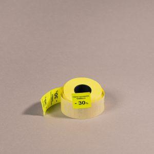 Etiketti 29x28mm keltainen -30_