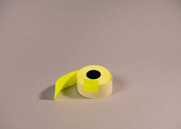 Etiketti 29x28mm keltainen